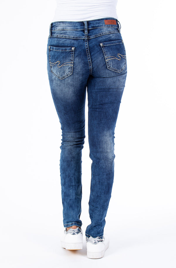 Blue Monkey Women Manie 3581-L Original Denim Jeans
