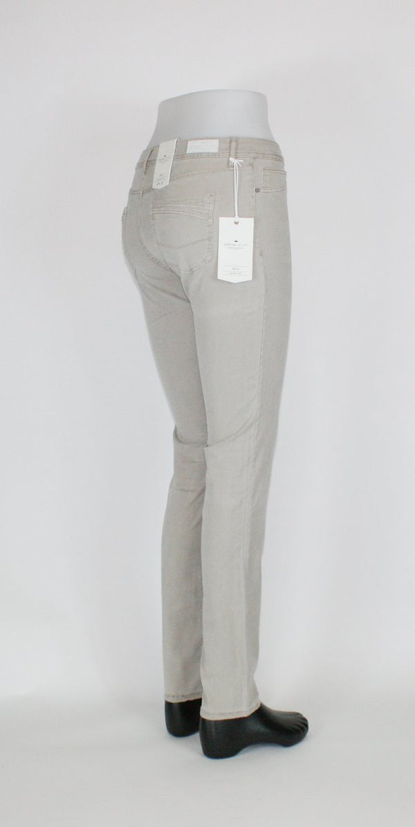 Cross Women Anya High Waist Slim Beige Denim Jeans P489-126