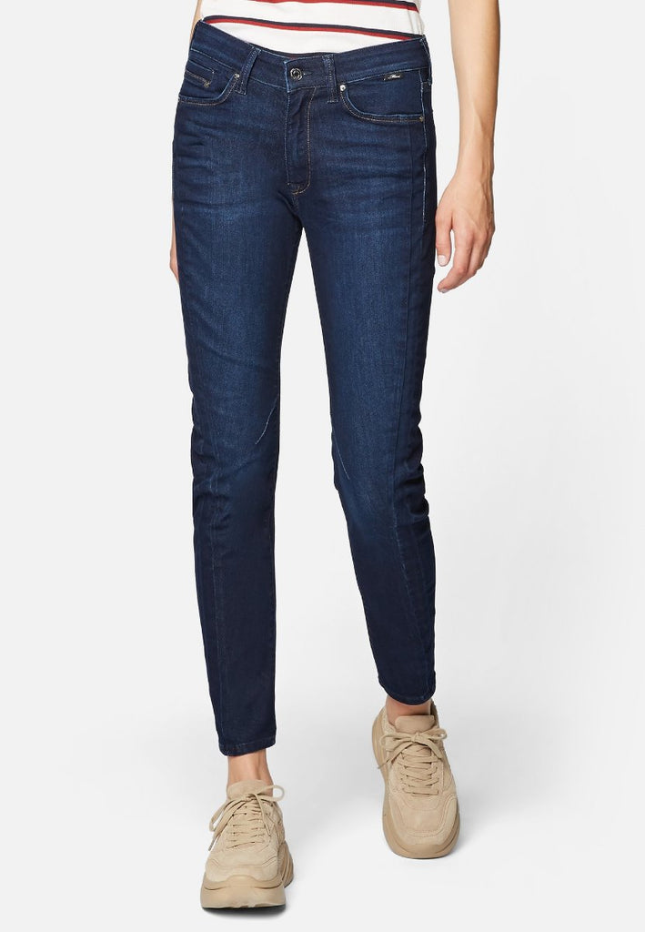 Mavi Damen Tina Deep Sateen Glam Tapered Fit Jeans