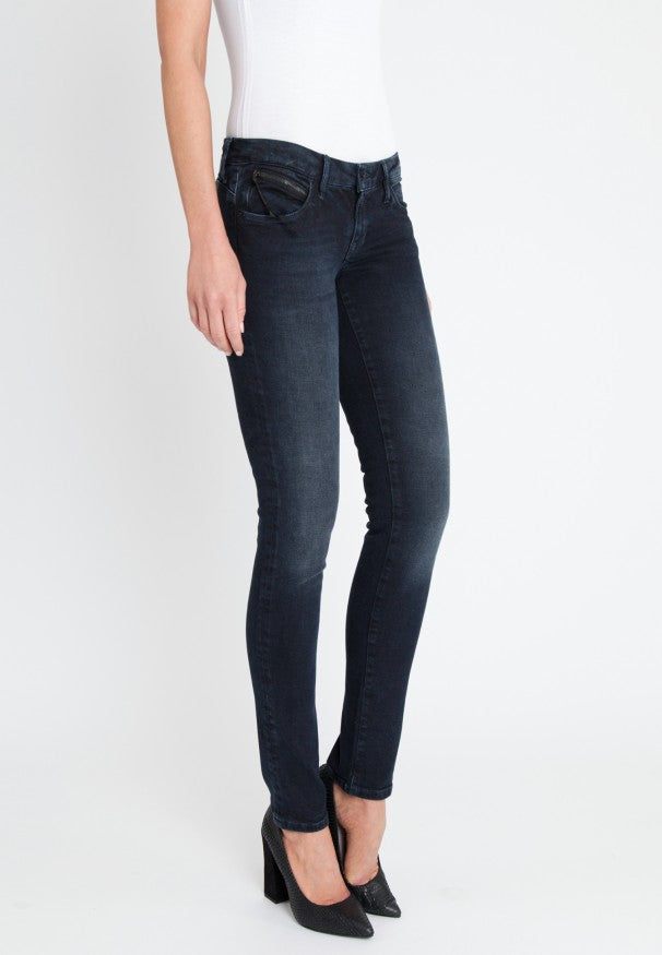 Mavi Damen Lindy Midnight Glam Fit Skinny Jeans 5058