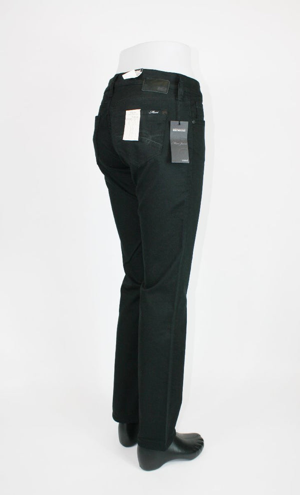Mavi Damen Olivia Black Denim Straight Leg Jeans