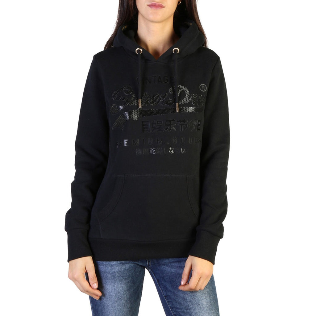 Superdry Women W2000073A_02A Black Sweatshirt