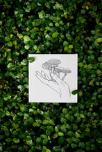 Load image into Gallery viewer, Mushroom Palm Illustration Print