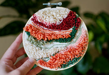 Load image into Gallery viewer, Desert Punch Needle Embroidery