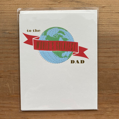 World's Greatest Dad Father's Day Card