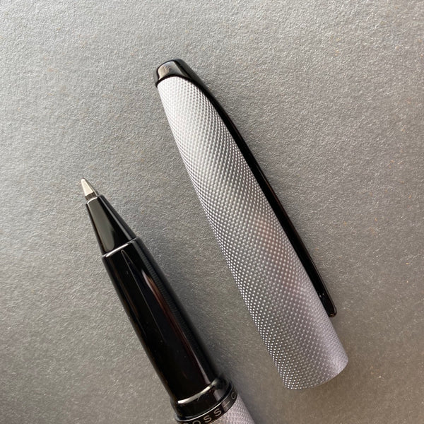 Cross Brushed Chrome Roller Ball Pen