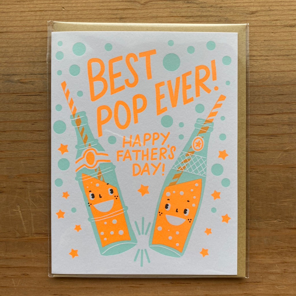 Best Pop Ever Father's Day Card