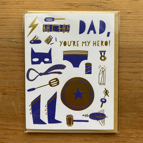 Thanks for Being Proud of Me Father's Day Card