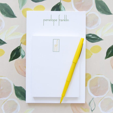 Partner Pairs Notepad Set