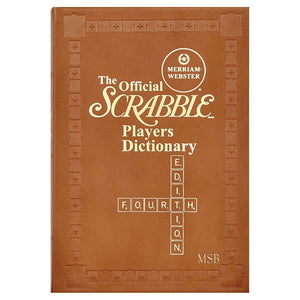 Official Merriam Webster Scrabble Dictionary