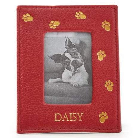 Leather Pet Frame