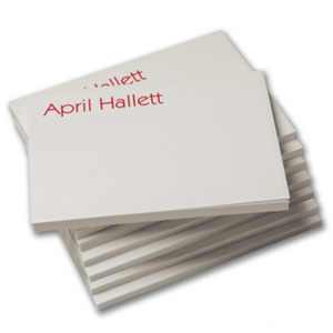 Personalized Post-It-Notes, Set of 8 pads