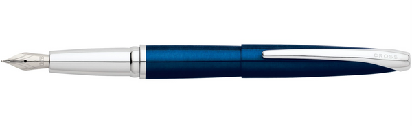 Cross ATX Pen, Translucent Blue Lacquer