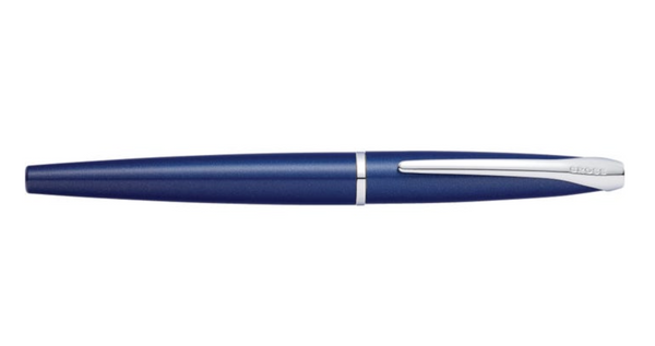 Cross ATX Rollerball Pen, Translucent Blue Lacquer