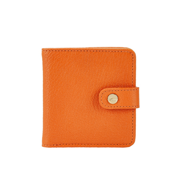 Purse-sized Leather Wallet