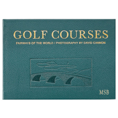 Golf Courses - Fairways of the World Book