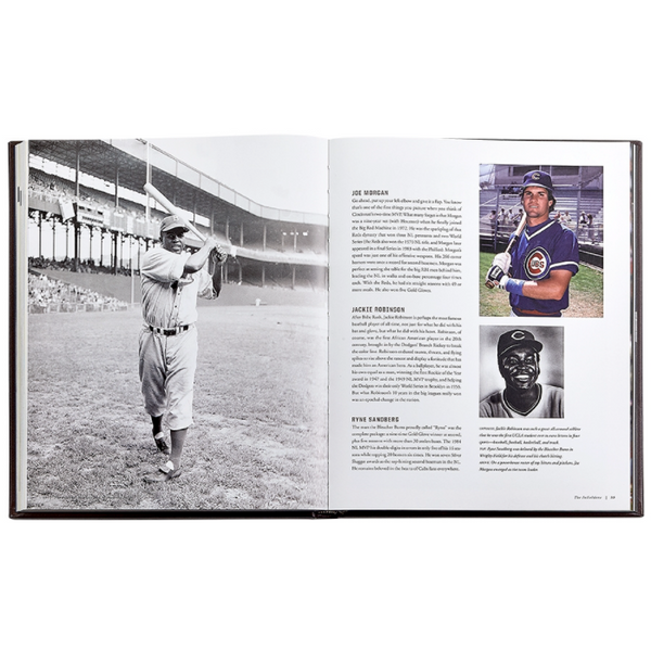National Baseball Hall of Fame Leather Book
