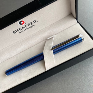 Sheaffer Blue Lacquer Fountain Pen
