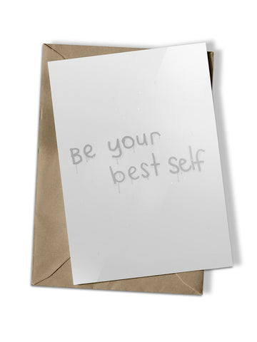 'Best Self' Greeting Card