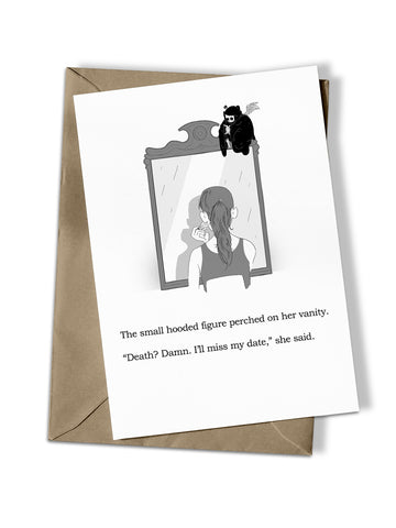 'Little Death' Greeting Card