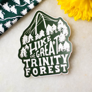 Hike The Great Trinity Forest Sticker