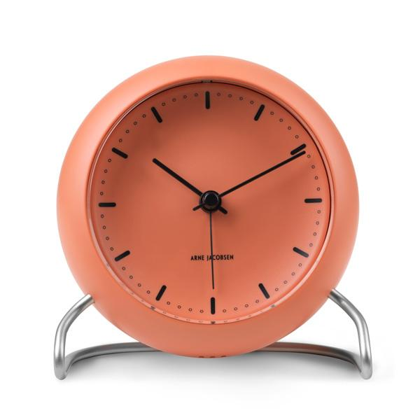 ARNE JACOBSEN/アルネ・ヤコブセン『TableClock CityHall』PALE ORANGE/ペールオレンジ - ILLUMS