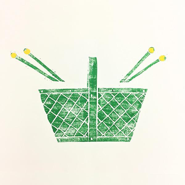 YUKI KOIDA 版画 Basket - ILLUMS
