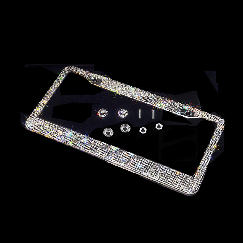 Bling Crystal License Plate frame
