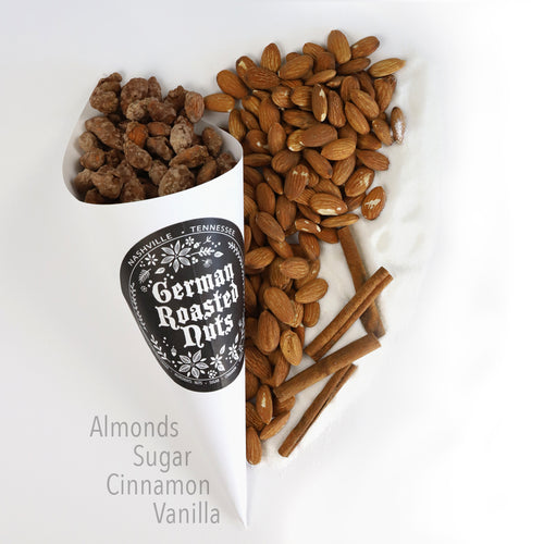 Cone of Roasted Almonds