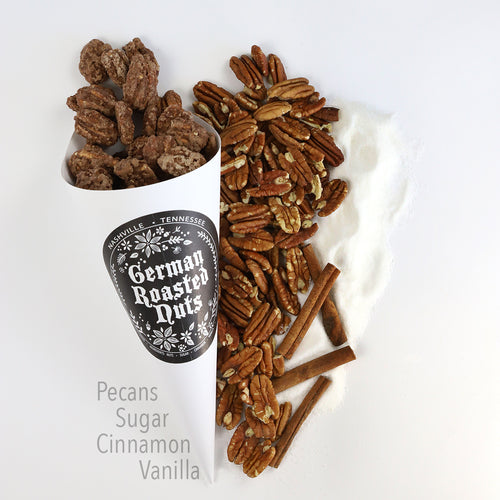 Cone of Roasted Pecans