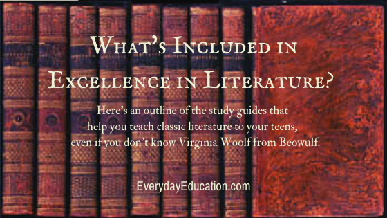 What is included in Excellence in Literature?