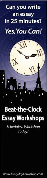 Beat the Clock Essay Workshop