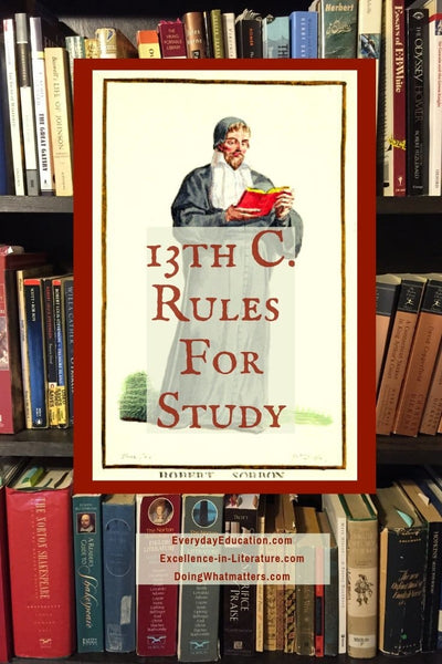 13th-Century Rules for Study
