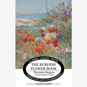 Burgess Flower Book (color edition) - Book