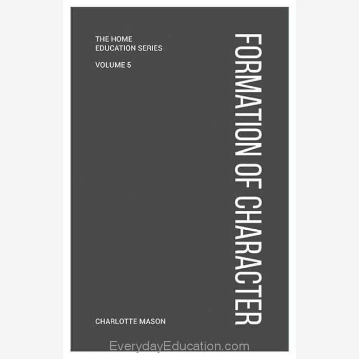 CM5- Formation of Character by Charlotte Mason (Volume 5) - Book