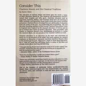 Consider This by Karen Glass - Book
