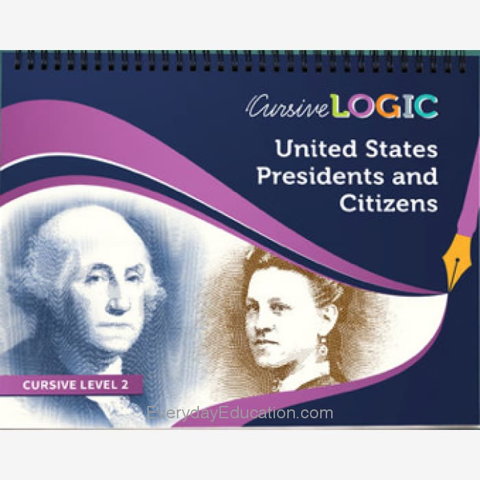 CursiveLogic Presidents and Citizens - Book