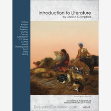 Load image into Gallery viewer, E1e- Introduction to Literature eBook Excellence in Literature- 4th edition - eBook