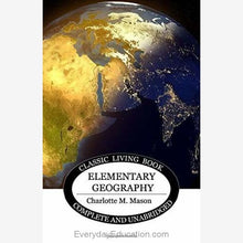 Load image into Gallery viewer, Elementary Geography by Charlotte Mason - Book