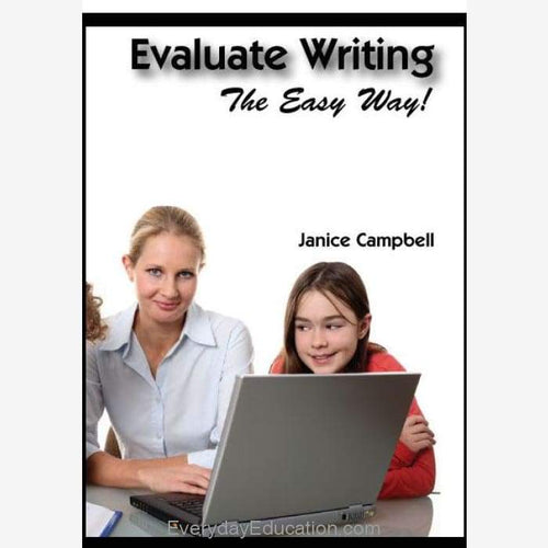 Evaluate Writing ebook - eBook