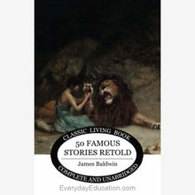Load image into Gallery viewer, Fifty Famous Stories Retold - Book