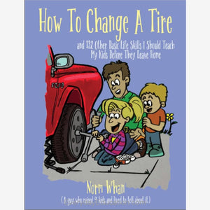 How to Change a Tire Life Skills Journal - Book