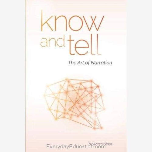 Know and Tell by Karen Glass - Book