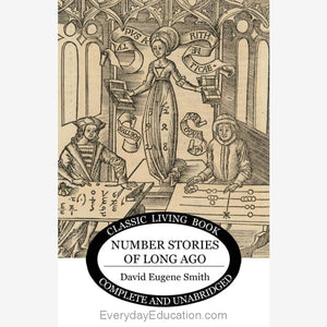 Number Stories from Long Ago - Book