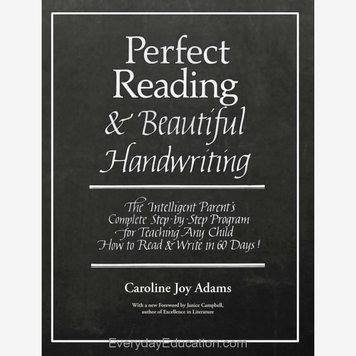 Perfect Reading Beautiful Handwriting eBook - eBook