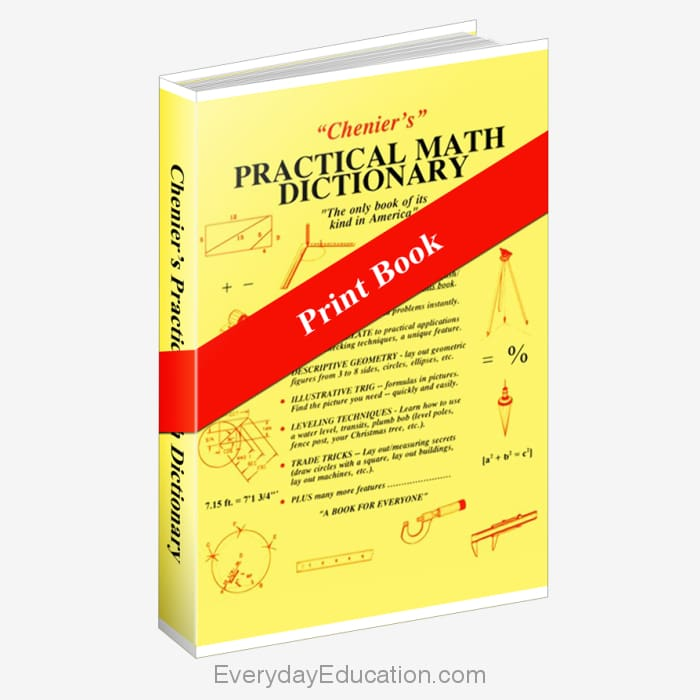 Practical Math Dictionary - Book