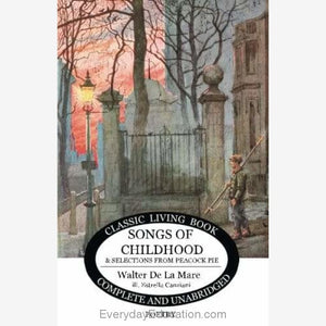 Songs of Childhood - Book