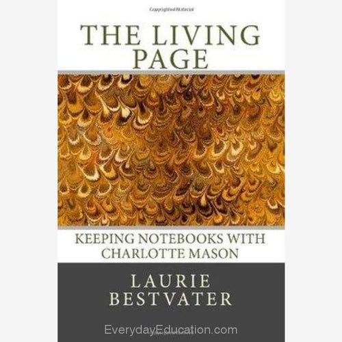 The Living Page by Laurie Bestvater - Book