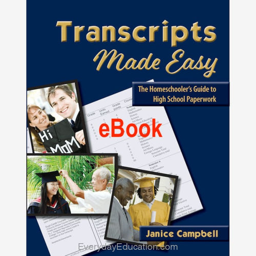 Transcripts Made Easy ebook - eBook