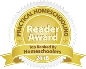 Excellence in Literature has received a 2018 Reader Award from the readers of Practical Homeschooling!
